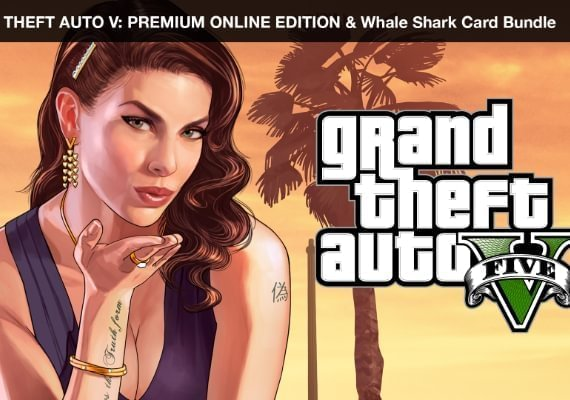 Grand Theft Auto V - Premium Online Edition and Whale Shark Card Bundle