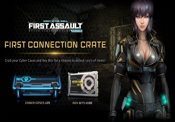Buy Ghost In The Shell Stand Alone Complex First Assault Online First Connection Crate Steam Cd Key Cheap