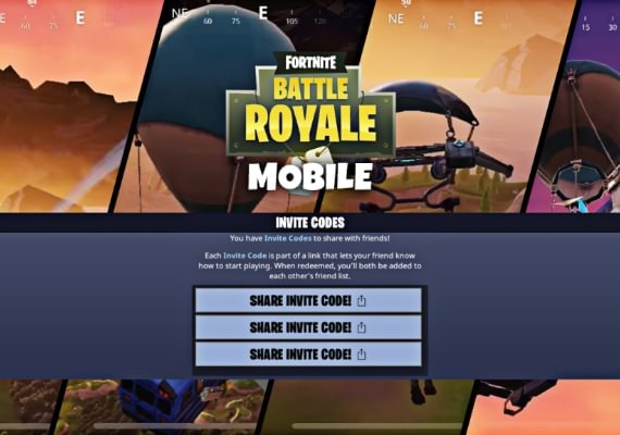 Fortnite IOS Friend Invite Code