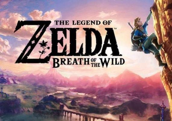 Buy The Legend of Zelda: Breath of the Wild EU - Nintendo CD KEY cheap
