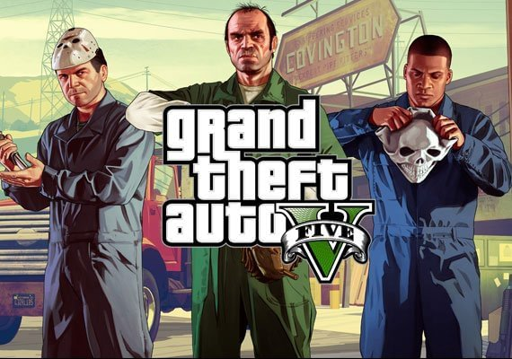 Grand Theft Auto V GTA 5: Criminal Enterprise Starter Pack + Great White  Shark Card Bundle