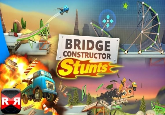 Imagini pentru Bridge Constructor Stunts