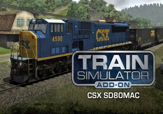 Train Simulator: CSX SD80MAC Loco