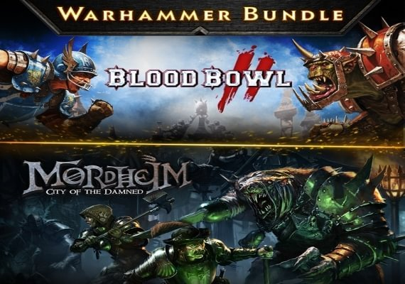 Warhammer Bundle - Mordheim and Blood Bowl 2 US