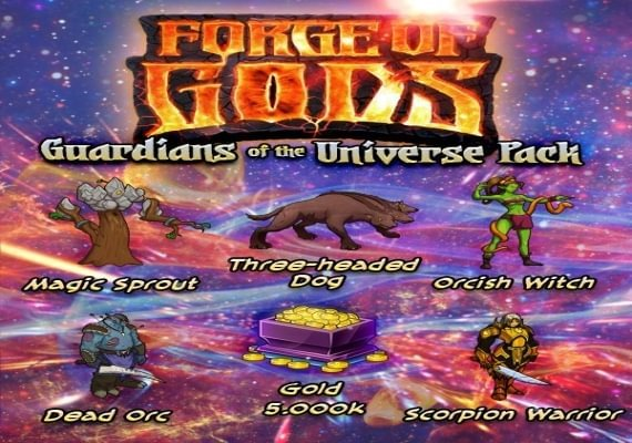 Forge of Gods - Guardians of the Universe Pack