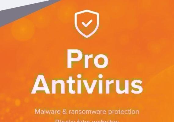 Avast Antivirus Pro 1 Year 3 Dev