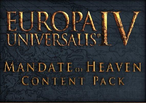 Europa Universalis IV - Mandate of Heaven Content Pack
