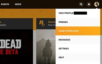 Rockstar account options