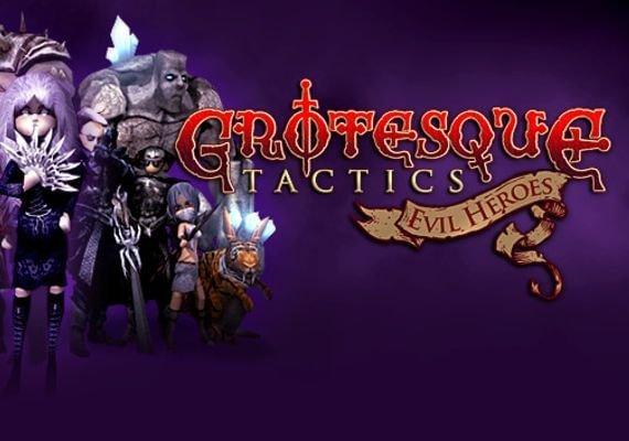 Grotesque Tactics: Evil Heroes