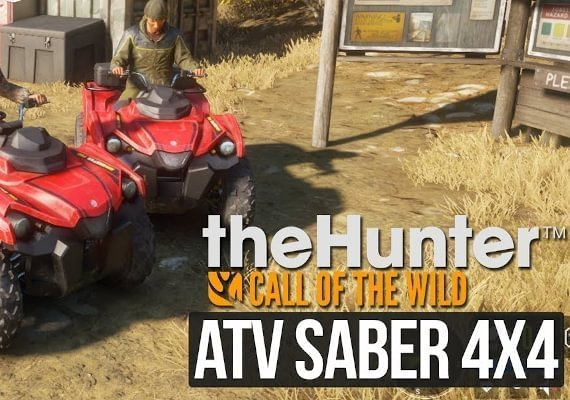 theHunter: Call of the Wild: ATV SABER 4X4