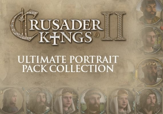 Crusader Kings II - Ultimate Portrait Pack Collection