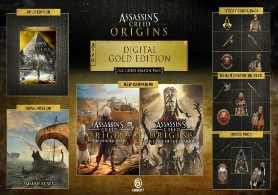 Assassin's Creed: Origins - Gold Edition Activation Link EMEA