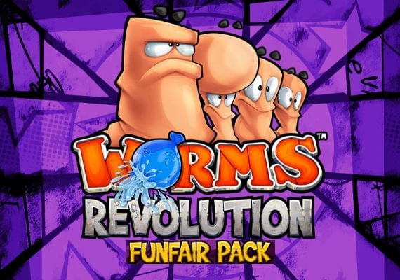 Worms Revolution - Funfair Pack