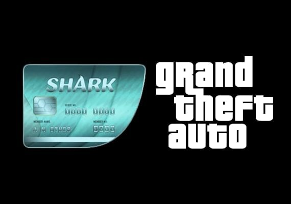 Grand Theft Auto V GTA + Megalodon Shark Cash Card