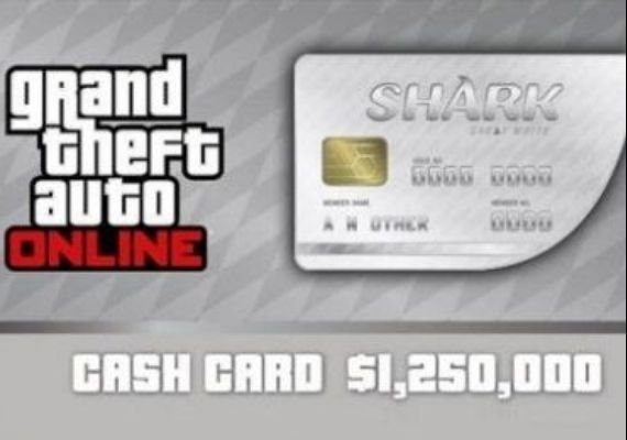 Grand Theft Auto V GTA + Great White Shark Cash Card