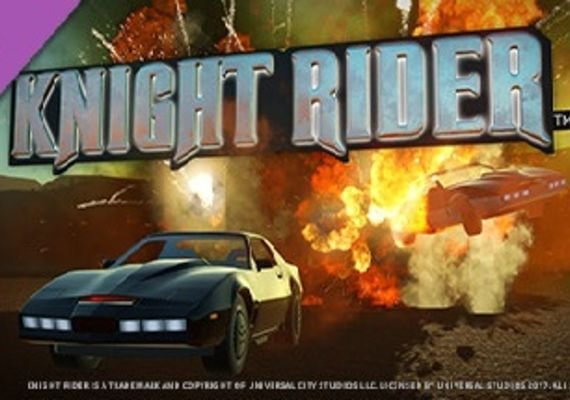 Planet Coaster - Knight Rider K.I.T.T. Construction Kit EU