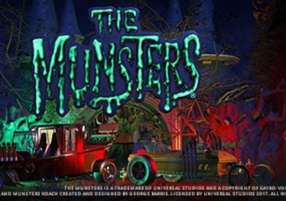 Planet Coaster - The Munsters Munster Koach Construction Kit EU