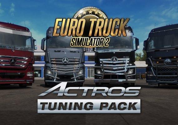 Euro Truck Simulator 2 - Actros Tuning Pack EU