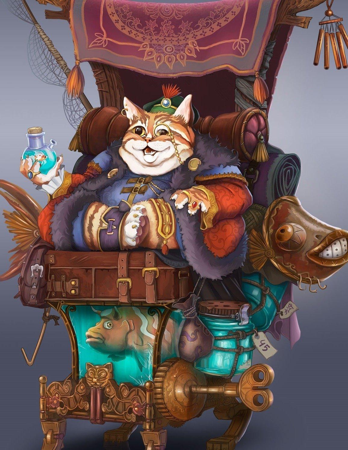 Merchant Cat