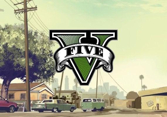 Grand Theft Auto V GTA 5 - Premium Online Edition and Great White Shark Card Bundle EU