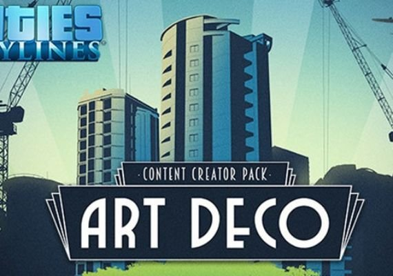 Cities: Skylines - Art Deco