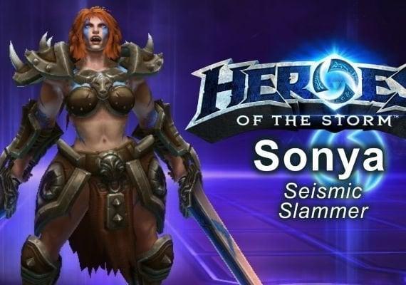 Heroes of the Storm: Sonya Hero