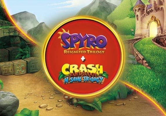 Spyro + Crash Remastered - Game Bundle UE