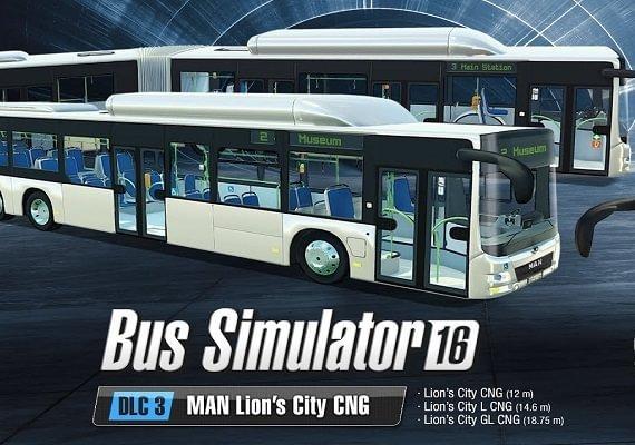 Bus Simulator 16 - MAN Lion's City CNG