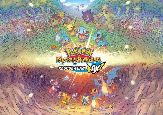 Pokemon Mystery Dungeon: Rescue Team DX EU