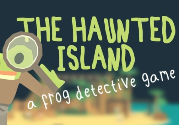 The Haunted Island, a Frog Detective