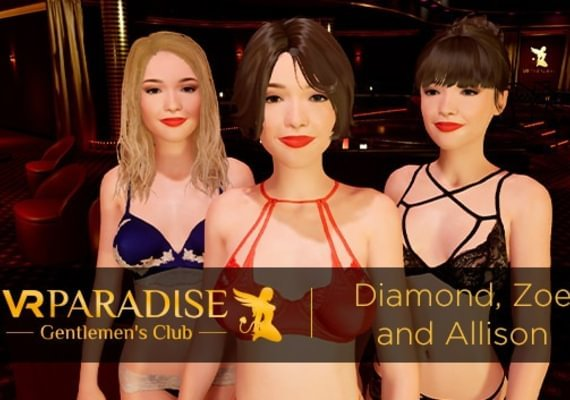 VR Paradise - Strippers Pack: Diamond, Alisson and Zoe