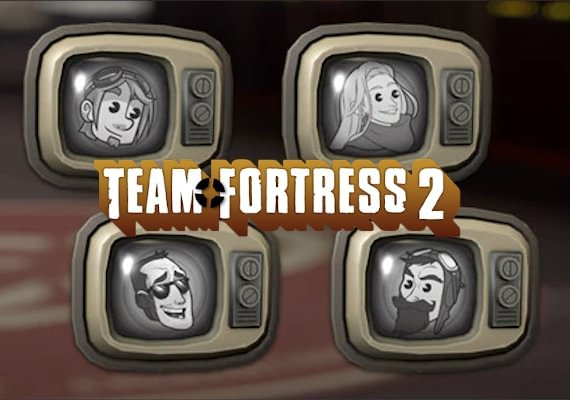 Team Fortress 2 Badges: Duncan's Kindhearted Kisser, Hannah's Altruistic Aspect, Sips' Selfless Simulacrum, Sjin's Generous Guise