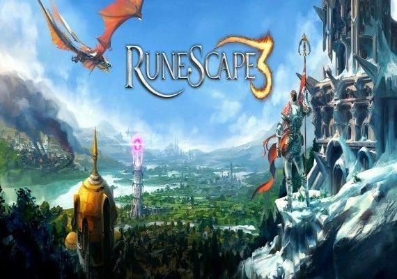 Runescape 90 Day Prepaid Time Game Card EU