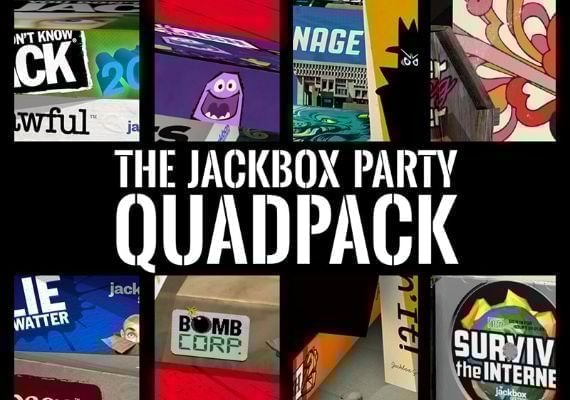 The Jackbox Party Quadpack US