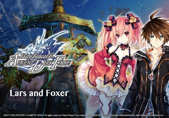 Fairy Fencer F ADF Fairy Set 3: Lars and Foxer