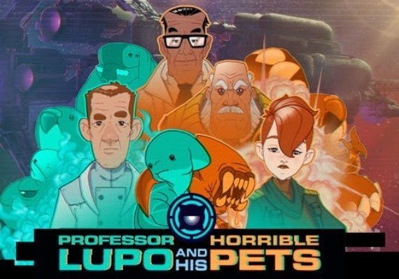 Professor Lupo and his Horrible Pets