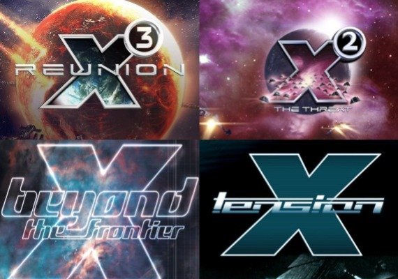 X3: Reunion + X2: The Threat + X: Beyond the Frontier + X: Tension
