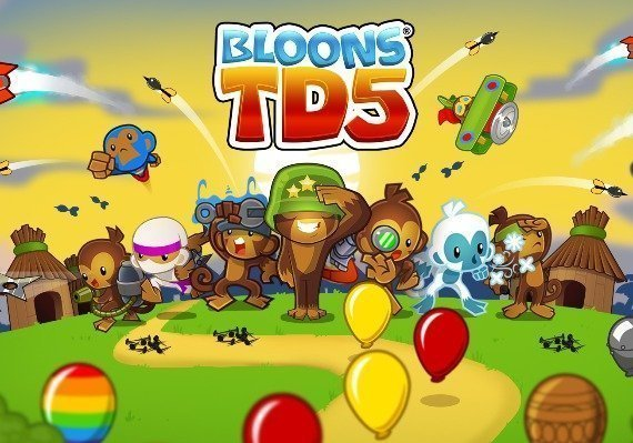 BTD5 Bloons TD 5 US