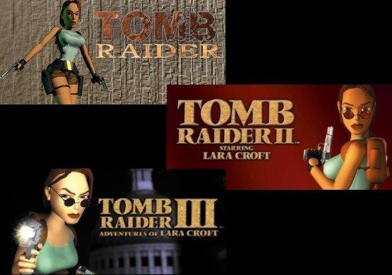 Tomb Raider I + II + III Bundle