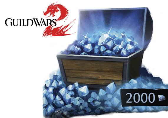 Guild Wars 2: 2000 Gems Card