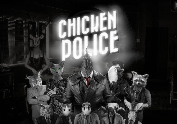 Chicken Police: Paint it RED! US