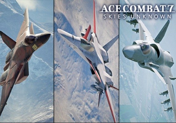 Ace Combat 7: Skies Unknown - 25th Anniversary DLC - Original Aircraft Series Set