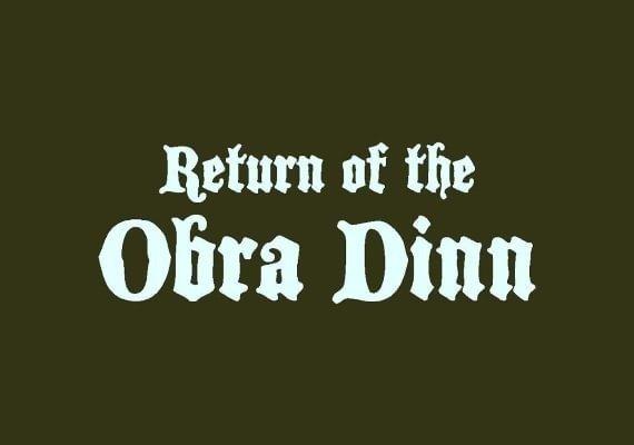 Return of the Obra Dinn NA