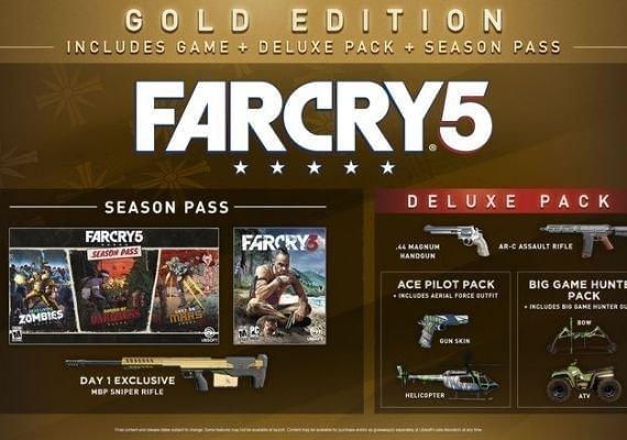 Far Cry 5 - Gold Edition + Far Cry: New Dawn - Deluxe Edition Bundle EU