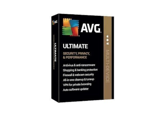 AVG Ultimate 2020 5 Devices 2 Year