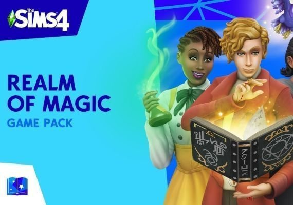 The Sims 4: Realm of Magic US