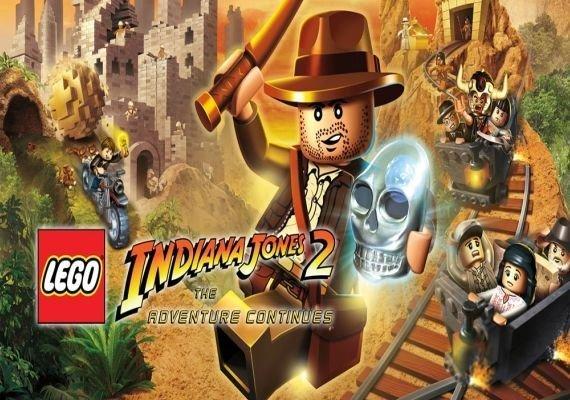 LEGO Indiana Jones 2: The Adventure Continues EU