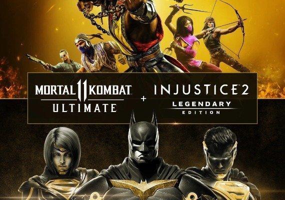 Mortal Kombat 11 Ultimate and Injustice 2 Legendary Edition - Bundle ARG