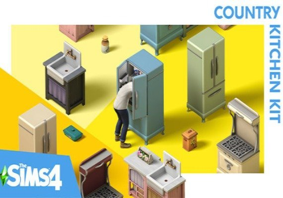 The Sims 4 - Country Kitchen Kit