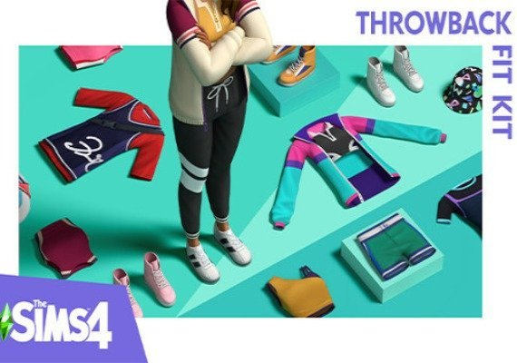 The Sims 4 - Throwback Fit Kit
